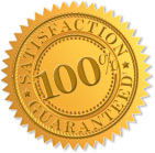Gold Seal of 100% Satisfaction Guaranteed